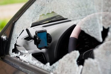 Image of a How Do Glass Etched Codes Deter Vehicle Theft and Affect Auto Insurance?
