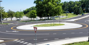 Image of a The Benefits of Roundabouts and Their Effect on Auto Insurance