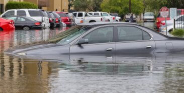 Image of a Is My Car Covered if it's Damaged or Totaled in a Flood?