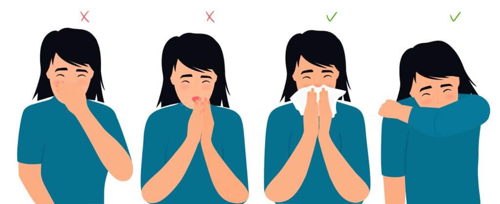 respiratory hygiene courtesy cough stop coronavirus