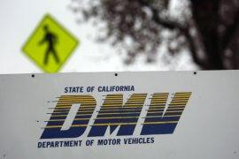 DMV signage