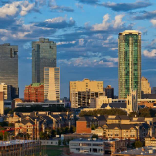 Downtown Fort Worth, Texas skyline